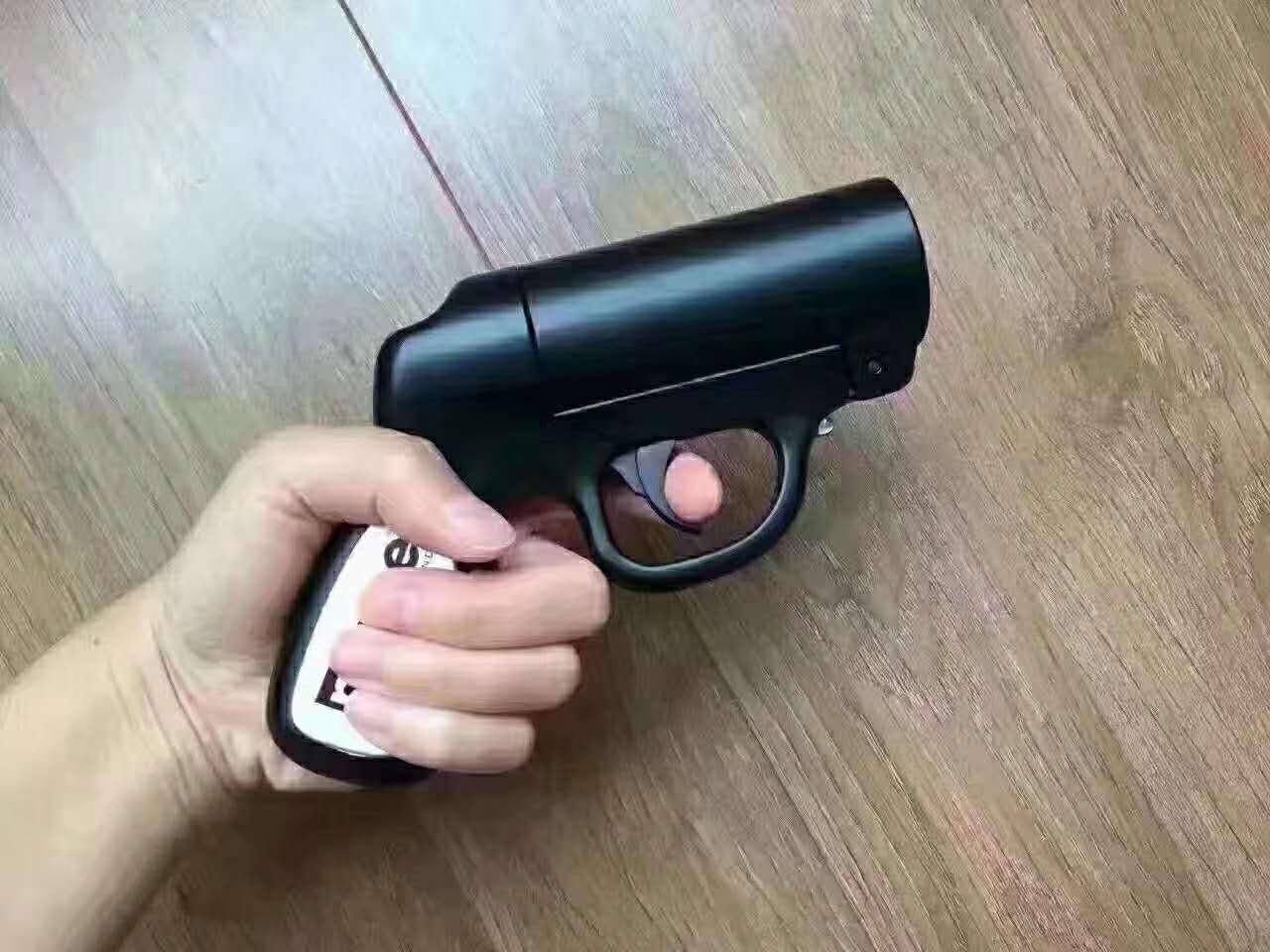 经典款梅西MACE火龙辣椒水枪形一代防狼喷雾剂 火龙喷雾 可更换填充剂 带暴闪瞄准