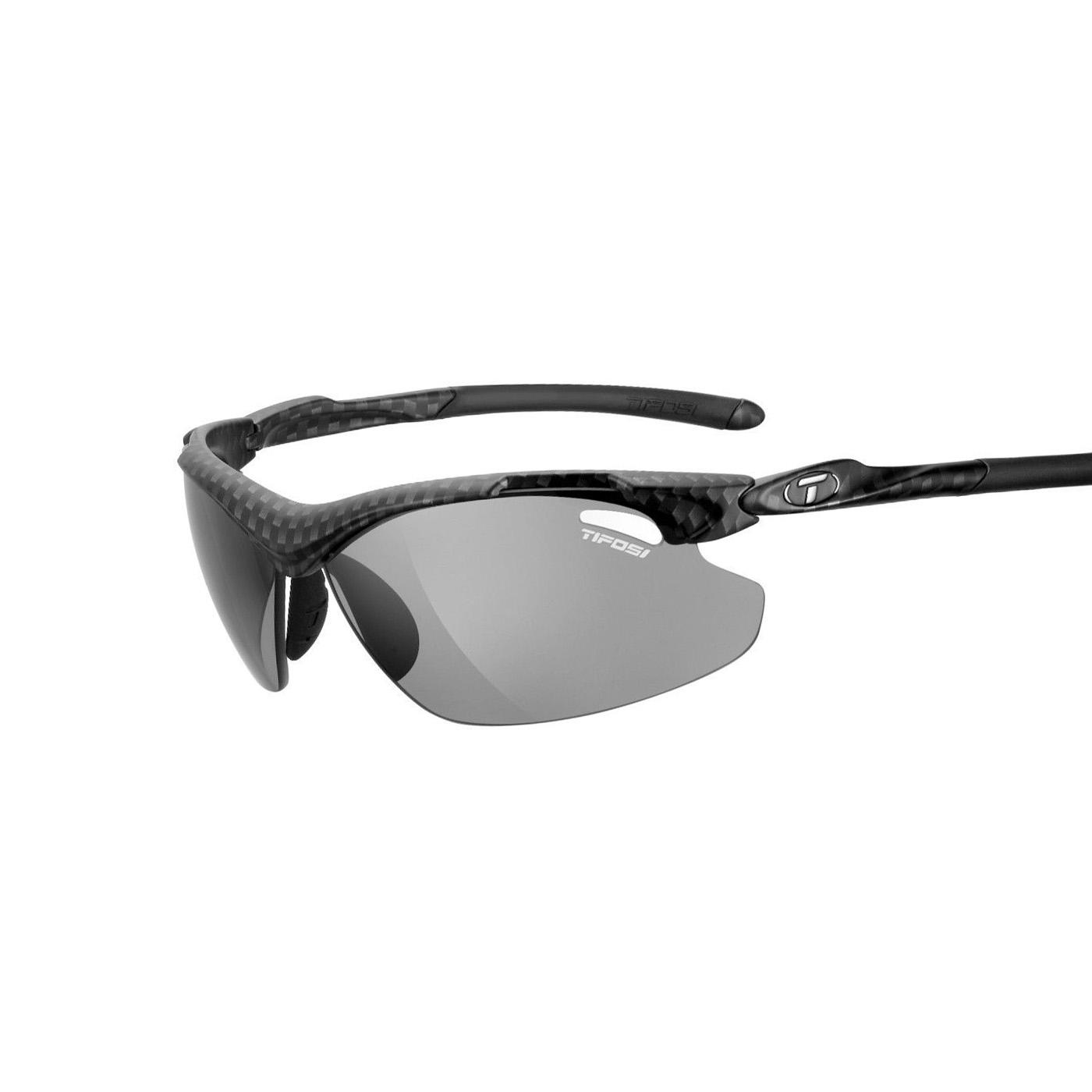 美国TIFOSI专业户外运动眼镜 偏光变色一体镜片系列骑行跑步登山垂钓户外运动眼镜太阳镜 Tyrant 2.0 烟灰色镜片