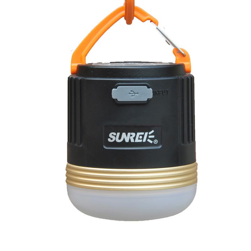 SUNREE山力士CC3/cc4移动电源营地灯新版可磁吸固定