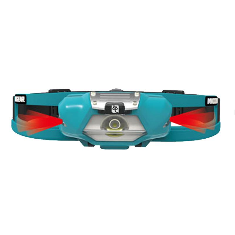 亚洲ISPO户外展得奖产品,专为跑步/越野跑设计的头灯 MAOGEAR COOLPAL 酷跑含导汗带警示灯 防眩目 夜跑越野跑专用头灯