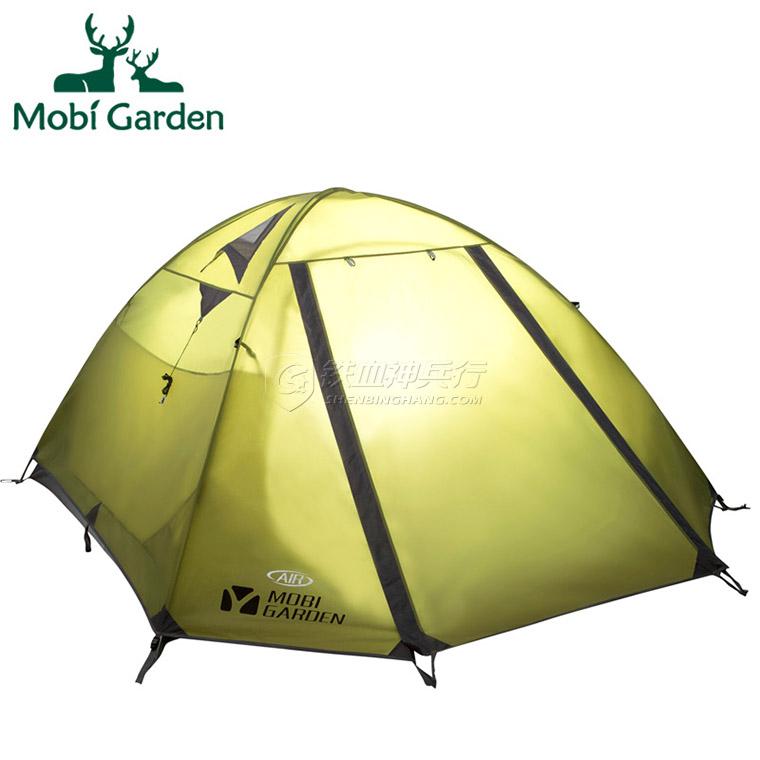 Mobi Garden 牧高笛 登山防雨野营保暖双层三季帐3-4人帐篷 冷山4AIR